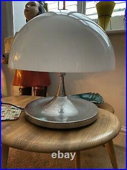 Vintage Durlston Designs Chrome Lamp Mushroom UFO Retro Mid Century 1960s 70s