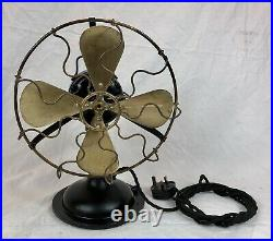 Vintage Electric Desk Fan, Retro