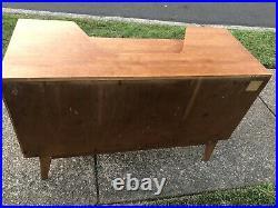 Vintage English Mid Century Modern G PLAN Console Desk Vanity Dresser
