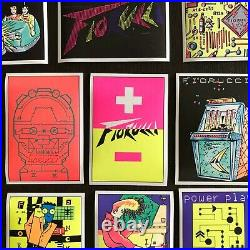 Vintage FIORUCCI complete collection editions STICKERS PANINI 1984