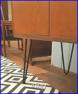 Vintage G Plan Fresco 2 Door Cabinet Teak Hairpin Mid-Century Retro Delivery