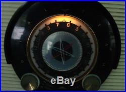 Vintage General Electric Model 861 Radio Red Space Age Retro Midcentury Modern