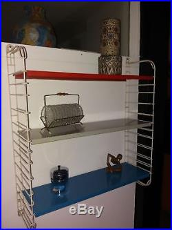 Vintage Industrial Retro TOMADO/PILASTRO Shelving Unit Mid Century (S3)