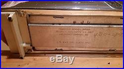 Vintage JC Penney Penncrest 2 Slice Toaster Retro Chrome Mid Century Modern