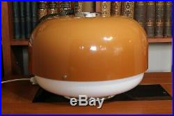 Vintage Large Guzzini Meblo Lamp/Mid Century UFO Table Lamp/Mushroom Lamp/1960s