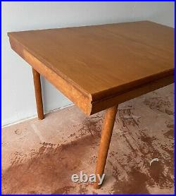 Vintage MID Century Danish Teak Long Extending Dining Table Free Delivery