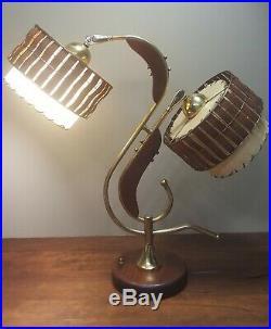 Vintage Majestic Space Age Atomic Art Deco MID Century Retro Table Lamp