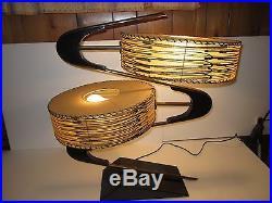 Vintage Majestic Z Lamp Mid Century