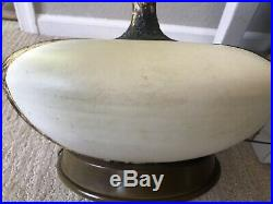 Vintage Mid CENTURY RETRO LAVA/Volcanic Lamp With CONE SHADE Eames Era Lamp