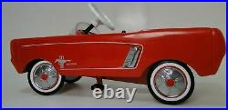 Vintage Mid Century Atomic Modern 1960s Jet Space Age Ford Mustang Race Car