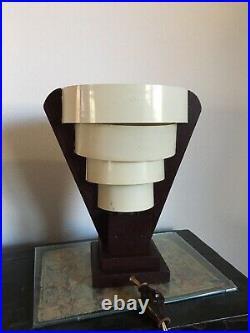 Vintage Mid Century Cone Space Age Table Desk Lamp Atomic Design Retro Light