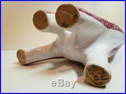 Vintage Mid Century MCM Bitossi Pottery CAT VASE FIGURINE ITALY Ceramic Retro
