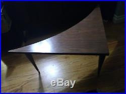 Vintage Mid Century Modern Boomerang Biomorphic Atomic Retro Kidney Coffee Table