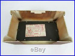 Vintage Mid-Century Modern Gothic NuTone LC-38 Three Tube Chime 3-Door Doorbell