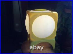 Vintage Mid Century Modern Retro Original Plastic Lamp Sputnik Rockabilly
