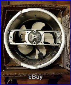 Beau Vintage Mid Century Retro NuTone Kitchen Exhaust 8 Wall Fan Mod. 8060 8070.  NOS