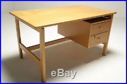 Vintage Oak Hans Wegner Student Desk Danish Mid-century FREE UK DELIVERY