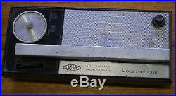 Vintage Portable Handheld Phonograph Made in Japan Unisonic mid century retro