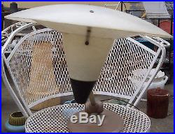 Vintage RETRO Mid-Century Modern EAMES ERA Acme-Lite NY FLYING SAUCER LAMP