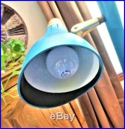 Vintage Refurbished TENSION POLE 3 Globe LAMP mid century modern 60s retro