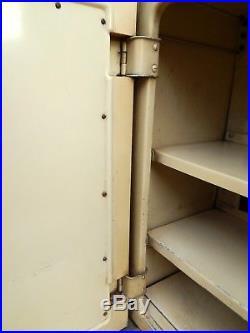 Vintage Retro 1950s English Rose Kitchen Wall Unit Cupboard 50s Mid Century