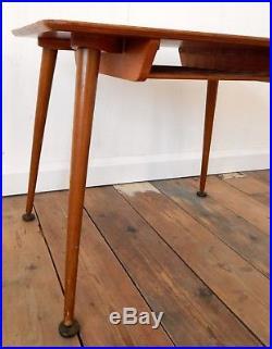 Vintage Retro 50s Mid Century Coffee Table Magazine Rack Dansette Legs G Plan