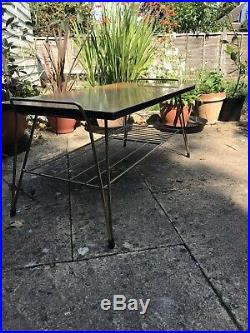 Vintage Retro Coffee Table Sputnik Mid Century Atomic Formica 60s 70s