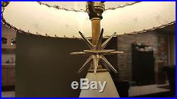 Vintage Retro Eames Era Mid Century Modern Atomic Starburst Sputnik Lamp lot 2
