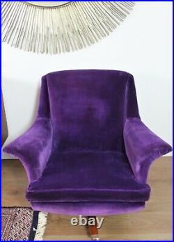 Vintage Retro G Plan Swivel Armchair Rocking Chair Mid Century