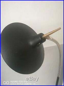 Vintage Retro Gio Ponti inspired Laurel Floor Lamp Mid Century Atomic UFO