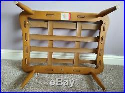 Vintage Retro MID Century Ercol 60's 70's Extension Footstool. Wonderful Example