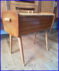 Vintage Retro MID Century Modern Sewing Box
