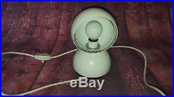 Vintage Retro MID Century Modernist Eyeball Lamp Light Artemide Eclisse Italy