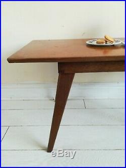 Vintage Retro Mid Century Danish Teak Coffee Table