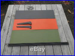 Vintage Retro Mid Century Dutch Tomado Modular Wall Unit Rietveld Eames Era