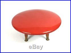 Vintage Retro Mid-Century Modern foot stool Telescope Furniture Co. Great cond