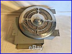 Vintage Retro Mid Century SCHAEFER Brass Mfg Kitchen Exhaust WALL FAN 110v Works