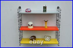 Vintage Retro Mid Century Sixties Dutch Tomado Bookshelf Rietveld Eames Era