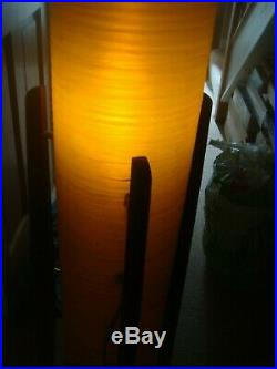 Vintage Retro Mid Century Tripod Rocket Floor Fibreglass Lamp Teak Danish