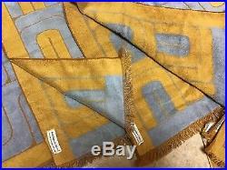 Vintage Retro Pierre Cardin 5 Pc Bath Towel Set Fieldcrest Mid Century Mod Art
