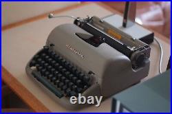 Vintage Retro Remington Rand Typewriter, Case, Made in Britain, Mid Century Rare