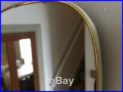 Vintage Retro Wall Hall Mirror Mid Century Thin Frame Simple Scandi 64x30cm m149