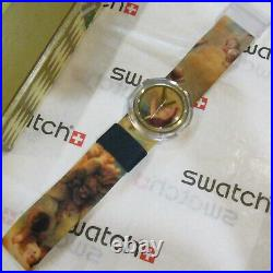 Vintage SWATCH Pop Watch Putti PWK168PACK NEW Cigar Box Edit Vivienne Westwood