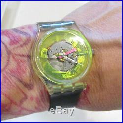 Vintage SWATCH Watch 1985 Techno Sphere GK101
