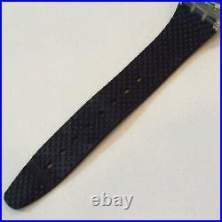 Vintage SWATCH Watch Black Line GK402 1992 Neon Pink Yellow Black