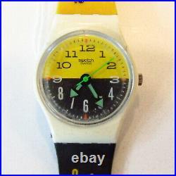 Vintage SWATCH Watch Seventeen Seven LW123 1988 Watch Guard READ