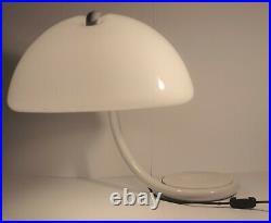 Vintage Serpente Table Lamp by Elio Martinelli for Martinelli Luce Panton Era