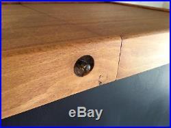 Vintage Sewing Box Table Mid Century Modern Retro Scandi Style