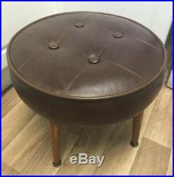 Vintage Sherborne Footstool Late Mid Century