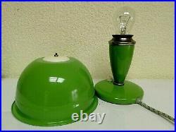 Vintage Soviet Space Age Mid-Century Desk Lamp Tiny Night Light Mushroom